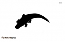 Crocodile Head Silhouette Image