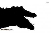 Crocodile Alligator Silhouette Pic