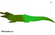 Scary Crocodile Vector Clip Art
