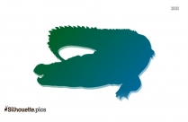 Crocodile Alligator Silhouette Image
