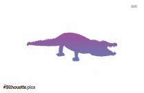 Crocodile Silhouette Clip Art