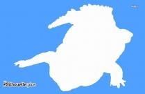 Alligator Silhouette Wallpaper