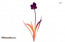 Flowers Silhouette Clip Art Free