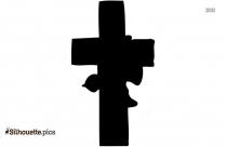 Christian Cross Symbol Silhouette