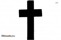 Simple Cross Silhouette