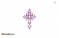 Maltese Cross Image Silhouette