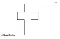 Jesus Cross Silhouette Background