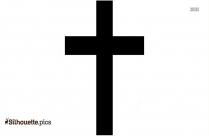 Cross Silhouette Illustration