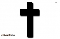 Jesus Cross Logo Silhouette For Download