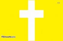 Jesus Cross Silhouette Clipart