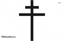 Cross Symbol Logo Silhouette For Download
