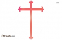 Cross Silhouette Drawing, Clipart