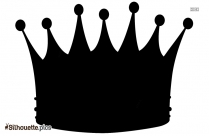 Crown Art Silhouette Illustration