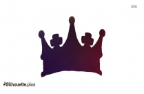 Crown Drawing Silhouette Background
