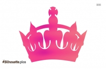 Crown Silhouette Art