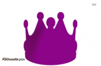 Queen Crown Outline Drawing Image