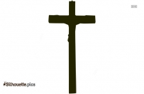 Crucifixion Of Jesus Silhouette Image And Vector