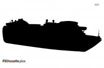 Roro Ship Silhouette Clip Art