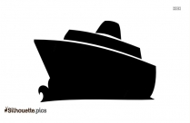 Free Cartoon Ferry Silhouette Pic