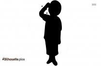 Little Boy Clipart Silhouette