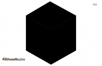 Cube Silhouette, Shapes Clipart
