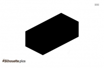 Cuboid Shape Silhouette Illustration