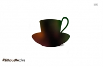 Cup And Saucer Clipart Vector Image