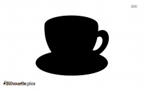 Cartoon Tea Silhouette Icon