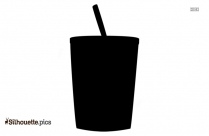 Hot Cocoa Cup Vector Silhouette