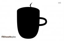 Cup Cartoon Silhouette