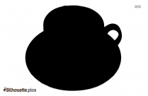 Cup Of Coffee Silhouette Drawing