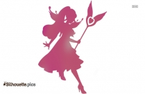 Cupid Angel Silhouette Image