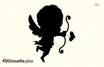 Cupid Arrow Silhouette