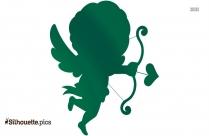Cupid Clip Art Silhouette
