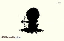 Cupid Silhouette Baby Cupid