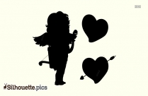 Cupid Silhouette Clip Art