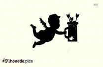 Cupid Silhouette Simple