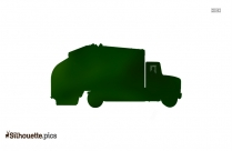 Garbage Pick Up Silhouette Image And Vector
