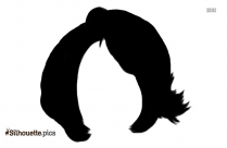 Curly Wigs Silhouette Picture