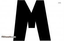 Cursive Letter M Clip Art