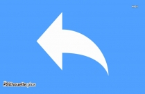 Curved Arrow Silhouette Vector And Graphics