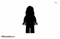 Wong Character Silhouette Drawing