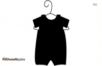 Cute Baby Baby Dress Silhouette