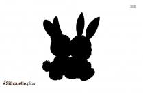 Bunny Cartoon Silhouette