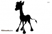 Giraffe Drawing Silhouette Free Vector Art