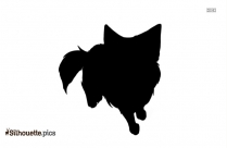 Cartoon Baby Pug Puppy Silhouette