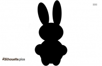 Bunny Silhouette Vector And Graphics