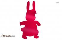 Cute Bunny Silhouette Picture