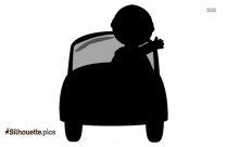 Free Car Driving Silhouette
