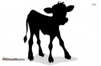 Cow And Calf Silhouette Clip Art